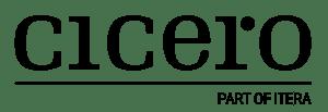cicero logo tagline black
