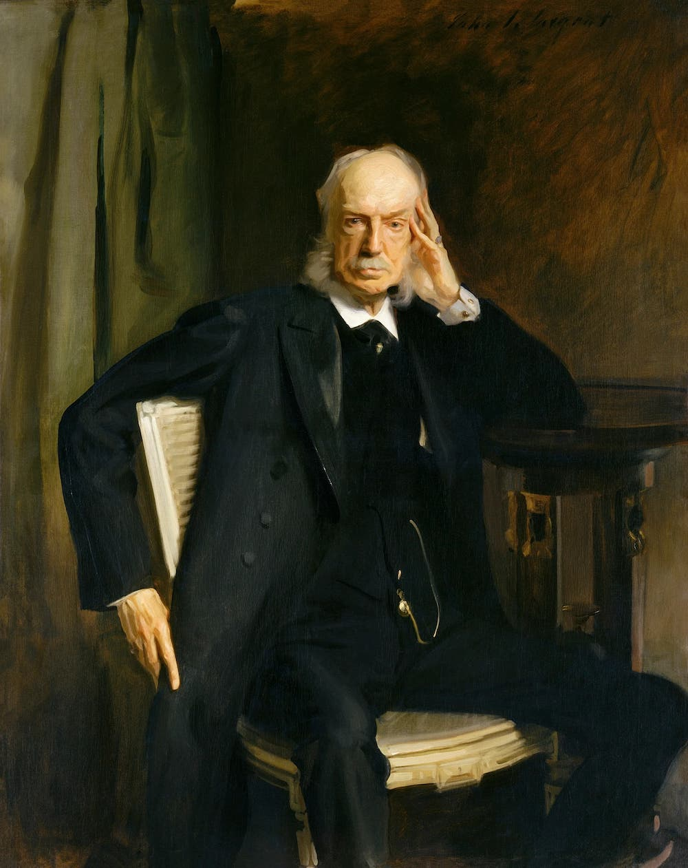 Henry G. Marquand (1897) by John Singer Sargent. Original from The MET Museum-1