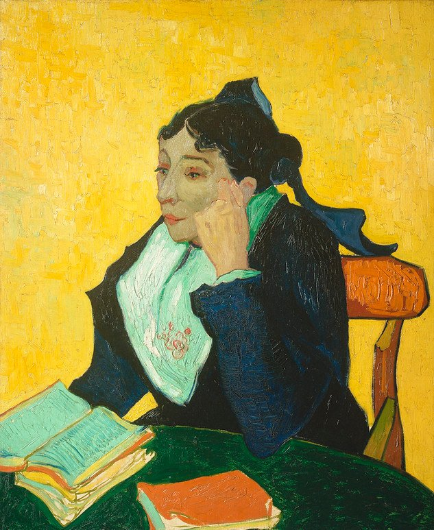 Madame Joseph-Michel Ginoux (1888–1889) by Vincent Van Gogh. Original from the MET Museum.