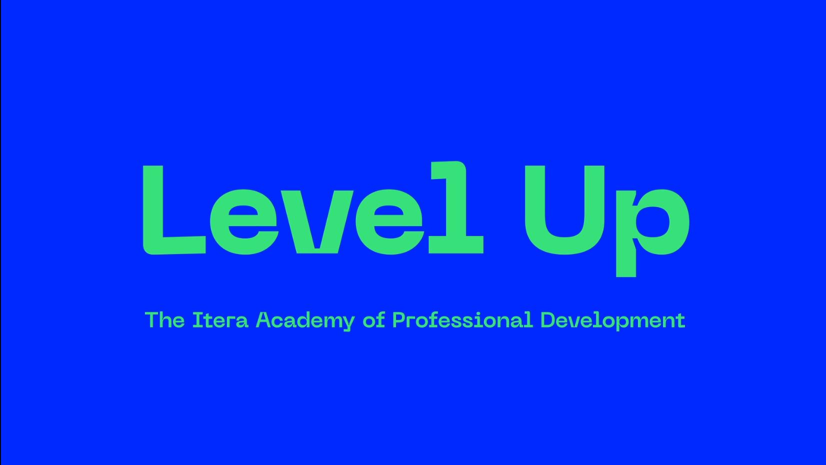 Level up –vårt interne program for kompetanseutvikling